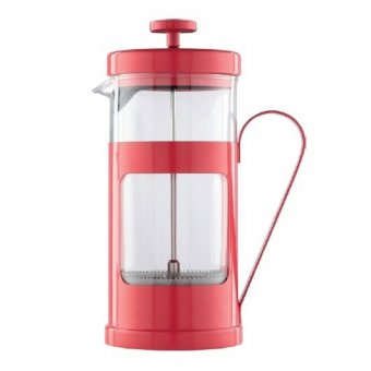 Cafetiera cu piston - Monaco French Press Cafetiere Red