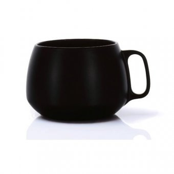 Cana cafea - Enso Big Cup Black Stoneware