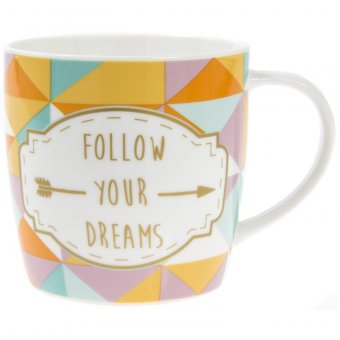 Cana cu mesaj - Follow Your Dreams