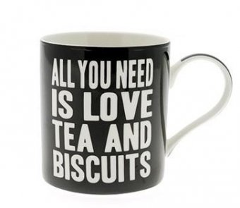 Cana cu mesaj - Love Tea and Biscuits