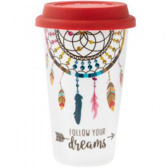 Cana de voiaj - Follow Your Dreams Travel Mug