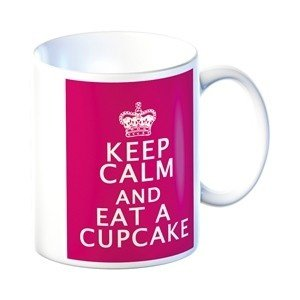 Cana portelan - Keep Calm and Eat A Cupcake