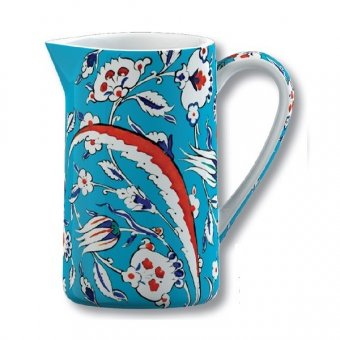 Carafa portelan - V and A Iznik Pomegranate Jug