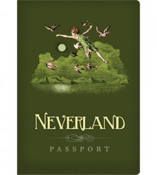 Carnetel -Neverland Passport Notebook