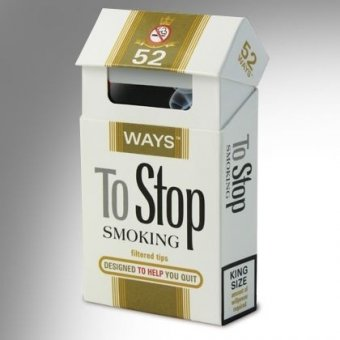 Carti de joc - 52 Ways To Stop Smoking