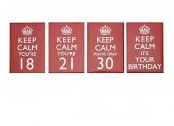 Magnet - Keep Calm Happy Birthday Magnet