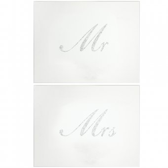 Placemat - Mr And Mrs Silver