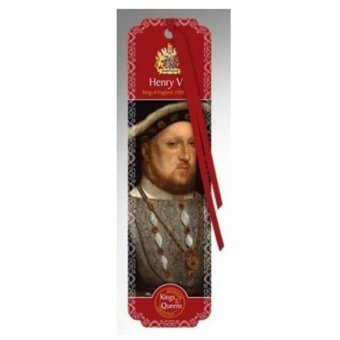 Semn de carte - Kings And Queens Bookmarks - Henry VIII