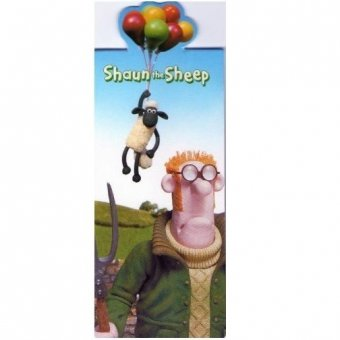 Semn de carte - Shaun The Sheep - Balloons