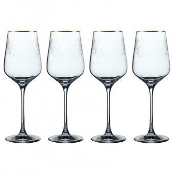 Set 4 pahare pentru vin rosu - VA The Cole Collection