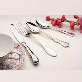 Set Tacamuri (16 buc) - KA Vintage 16 Pieces Cutlery Set 18.10