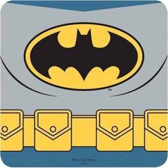 Coaster- Batman Costume Coaster