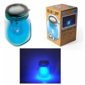 Borcan led albastru - Blue Sunjar Led Night Light