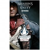 Breloc - Assassins Creed Unity Logo Bagged Key Ring
