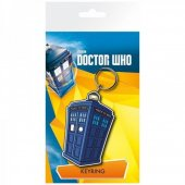 Breloc - Doctor Who Tardis Illustration Bagged Key Ring