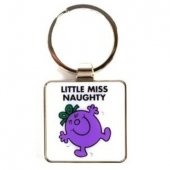 Breloc - Little Miss Naughty Keyring