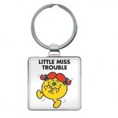 Breloc - Little Miss Trouble Keyring
