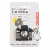 Breloc camera video cu sunet si led - Camera Led Keychain