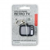 Breloc televizor - TV Static Led Keychain Carded