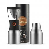 Cafetiera - ColdBrew Portable Silver / Black 1000 ml