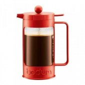 Cafetiera cu piston - Bean French Press Coffee 350ml Red