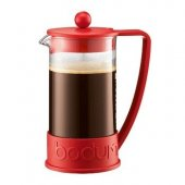 Cafetiera cu piston - Brazil French Press Coffee-Red 1000ml