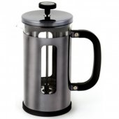 Cafetiera cu piston - Pisa Cafetiere Gun Metal Black