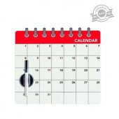 Calendar magnetic - Fridge Board Calendar Magnetic