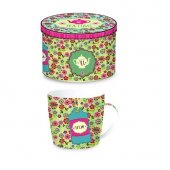 Cana - Tea Time Background Green