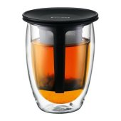 Cana cu infuzor - Bodum Tea For One Glass Bodum 350ml