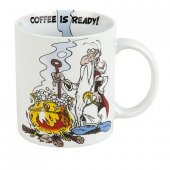Cana cu mesaj - Asterix Coffee Is Ready