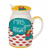 Cana cu mesaj - Mrs Always Right