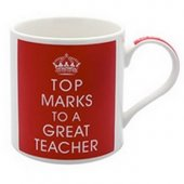 Cana cu mesaj - Top Marks To A Great Teacher China