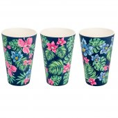 Cana de voiaj -  3X Cups Sets, Tropical 400 ml