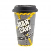 Cana de voiaj - Man Cave Travel Mug