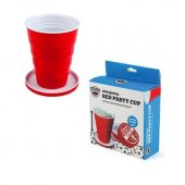 Cana de voiaj - Red Cup Emergency Red Party Cup 450ml