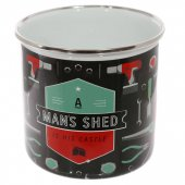 Cana metalica - Man Shed Is His Castle Enamel 500ml