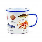 Cana metalica - Sea Life Enamel 500ml
