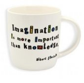 Cana portelan - Imagination Is More Important Than Knowledge