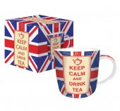 Cana portelan - Keep Calm And Drink Tea