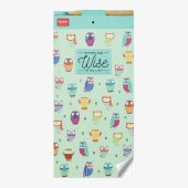 Carnet magnetic - Owls