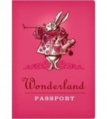 Carnetel - Wonderland Passport Notebook