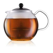Ceainic cu infuzor - Assam Tea Press Black 1000ml