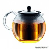 Ceainic cu infuzor - Assam Tea Press SS Filter 1200ml