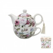 Set de ceai - Floral Bouquet Tea For One