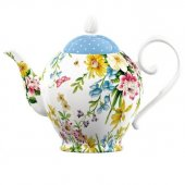 Ceainic portelan - English Garden Teapot Six Cup