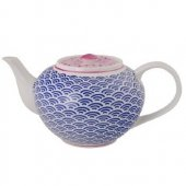 Ceainic portelan - Star and Wave Teapot Blue