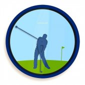 Ceas perete jucator de golf - Wall Clock