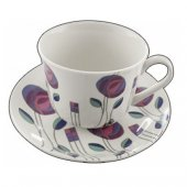 Ceasca ceai portelan - Mackintosh Cup and Saucer