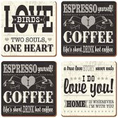 Coaster - I Love Coffee